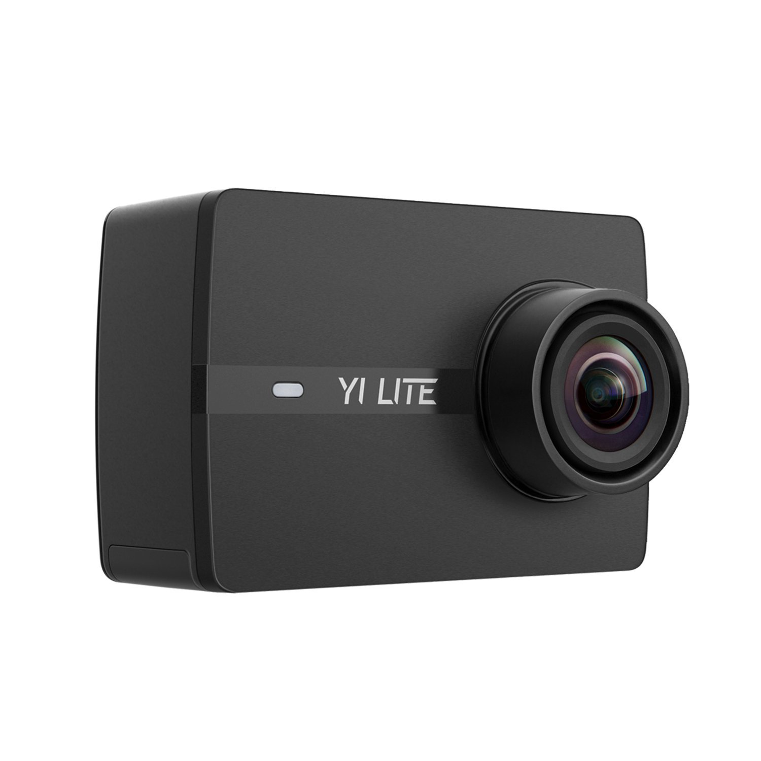"YI Lite Action Camera 16MP WIFI 2.0"" LCD Touchscreen 150° Wide Angle 4K Sports Camera Sony Image Sensor 40M Waterproof Underwater Camera in Case (Case not Included) for Skiing Skating (Black) by YI"