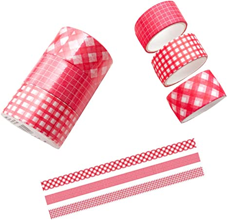 Craft Decorative Tape Red Pattern Tape Washi Tape