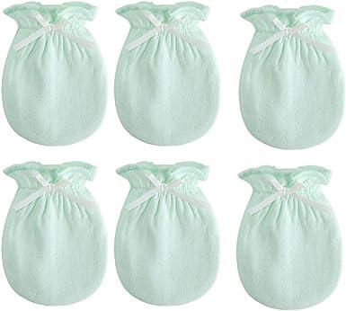 Baby Kids Soft Cotton Newborn Infant Anti-Scratch Handguard Mittens Glove Gifts