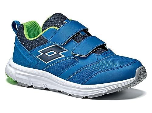 Lotto Zapatillas de Tenis Para Niño, Color Azul, Talla 28 EU