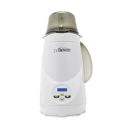 Calienta Biberones con Funci/ón de reserva Multifuncional Esterilizador//Calentador de alimentos,SUMGOTT dise/ño de botellas dobles Termostato inteligente Calentador 5 en 1