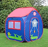 GreEco Kids Pop Up Tent, Play House Tent, 4 X 3.45 X 3.45 Feet, Blue