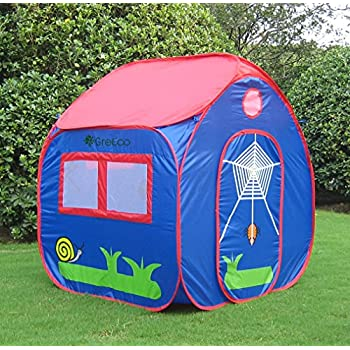 GreEco Kids Pop Up Tent Play House Tent 4 X 3.45 X 3.45 Feet Blue  sc 1 st  Amazon.com & Amazon.com: Tents for Kids Glamore 1-5 years old children Toys ...