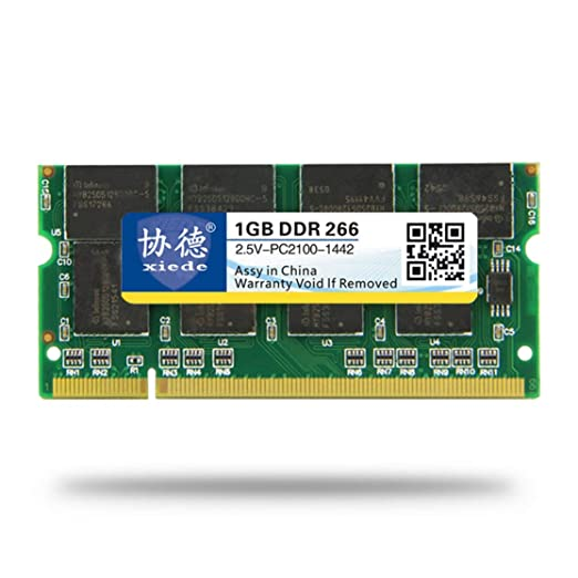 Candybarbar xiede DDR 266 1G Módulo de Memoria de Memoria ...