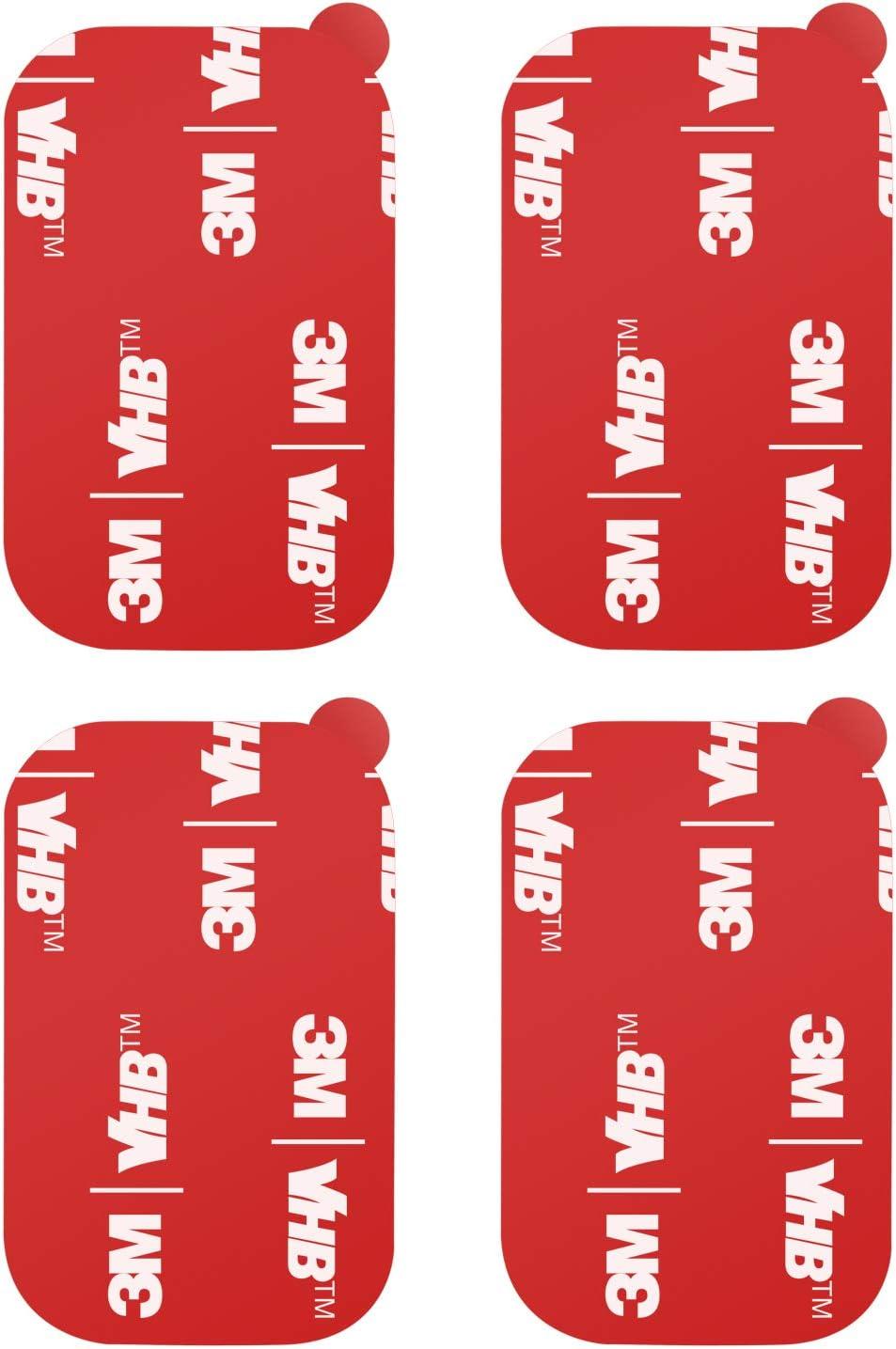 apps2 lot de 4 adhesifs 3m vhb pour tableau de bord de voiture adhesifs double face 3m