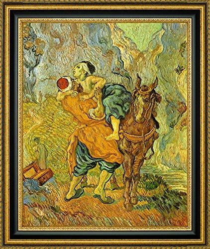 The Good Samaritan after Delacroix by Vincent Van Gogh - 9