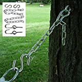 Hanging Kit Hammock 2 Eye Bolts 2 S Hooks 2 Chains 13'' Links Chains Tree Straps