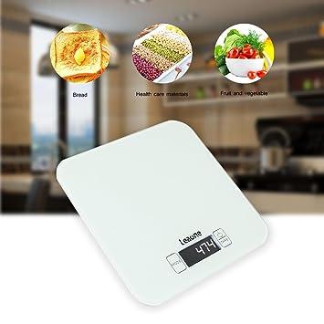 nicebuty báscula electrónica báscula digital para frutas /verduras/harina/Medicina/leche/