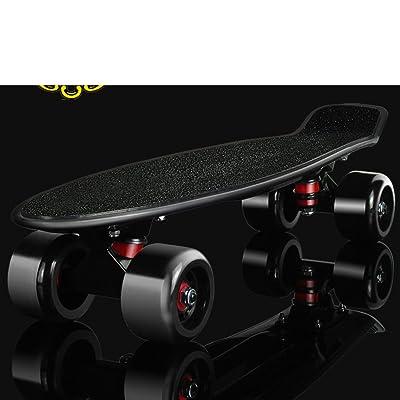 Skate/Quatre roues d'habillage de la grande roue/Banane/Transport routier de la plaque de patin/Scooter adulte/Les enfants les débutants de petits poissons plaque
