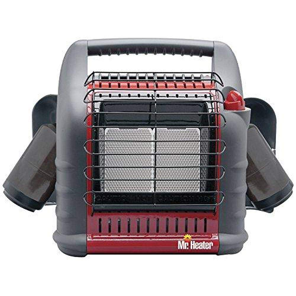 Mr. Heater Corporation MH18B Portable Propane Heater, Red by Mr. Heater