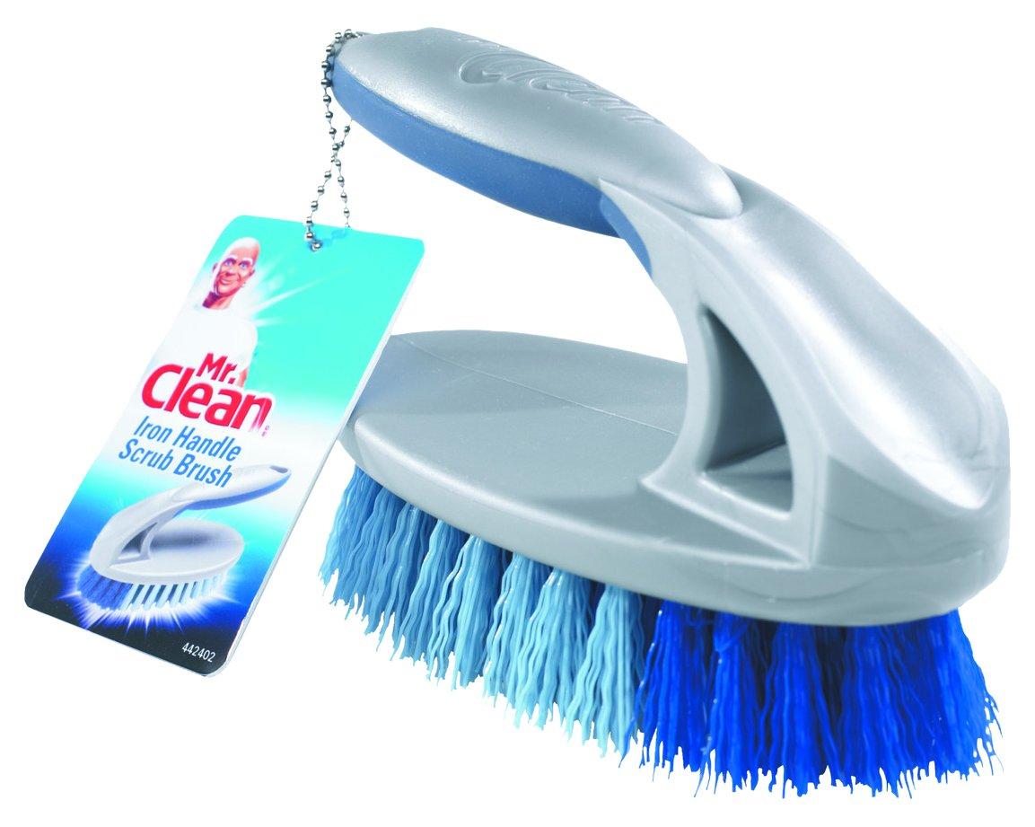 Magnolia Brush SB-1000 Boot and Shoe Brush Polypropylene Bristles Black//Blue 9 Length x 4-3//4 Width Case of 6