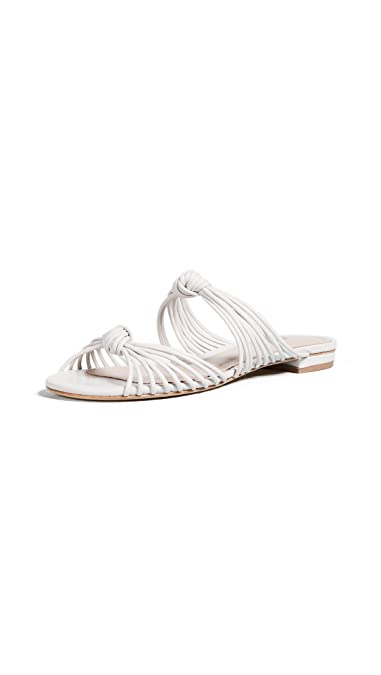 460b464307bd0 Amazon.com: SCHUTZ Women's Nitiely Strappy Flat Slides: Shoes
