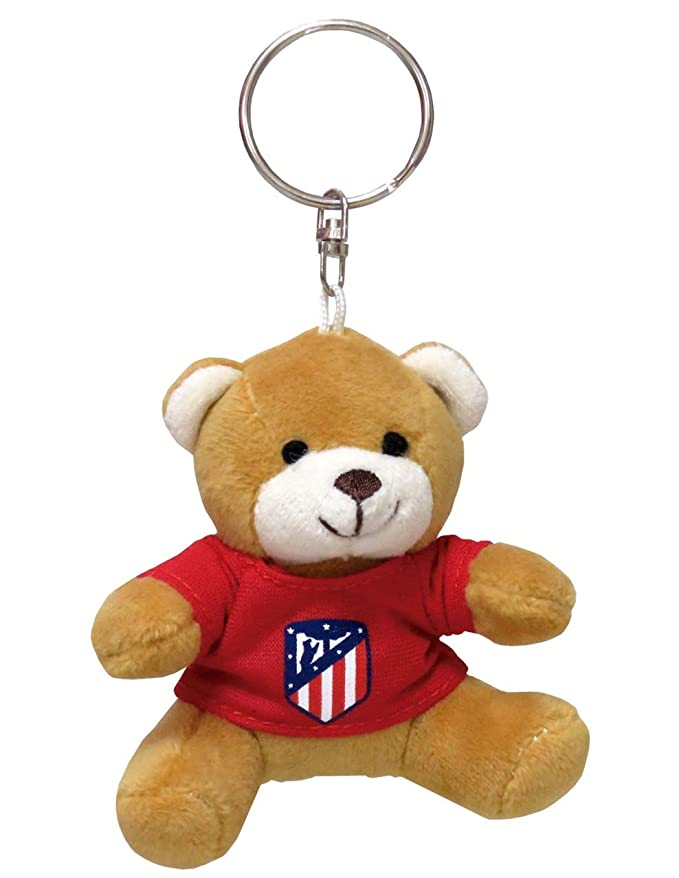 Amazon.com: Atletico Madrid Bear Plush Key Chain: Office ...