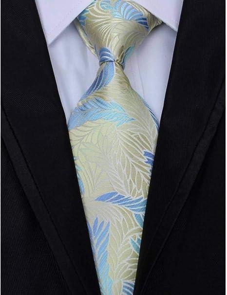 WOXHY Corbata Hombre 8Cm Paisley Novedad Corbata 100% Corbatas de ...