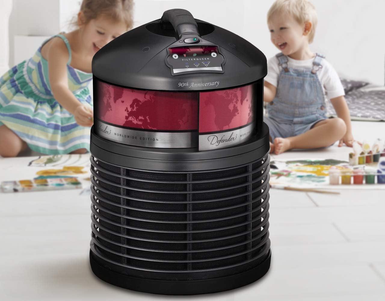 Filter Queen - Purificador de aire Defender 4000: Amazon.es: Hogar