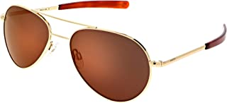 product image for Randolph Yeager Aviator Classic Teardrop Sunglasses for Men or Women Polarized 100% UV