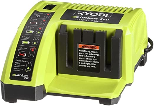 Amazon.com: Ryobi Ion de litio de 24 V Cargador: Home ...