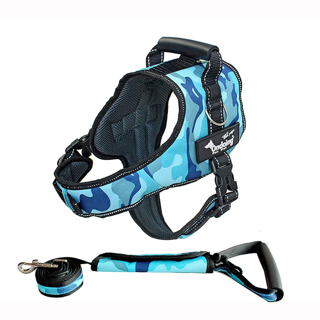 B Large B Large Dog leash dog vest-style straps chest straps out small, medium and large dogs with traction rope L
