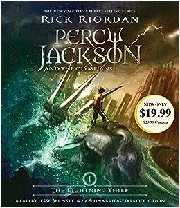 The Lightning Thief: 01 Percy Jackson and the Olympians: Amazon.es: Riordan, Rick, Bernstein, Jesse: Libros en idiomas extranjeros