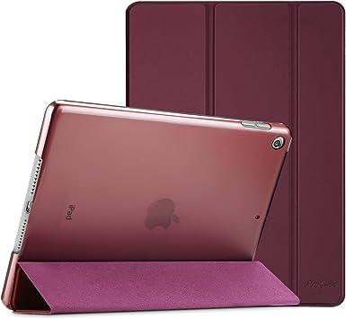 Smart Cover Case Housse /Étui de Protection avec Support Fonction et Veille//R/éveil Automatique-Noir ProCase Coque iPad 10.2 Pouces 7/ème G/én/ération 2019 A2197//A2198//A2200