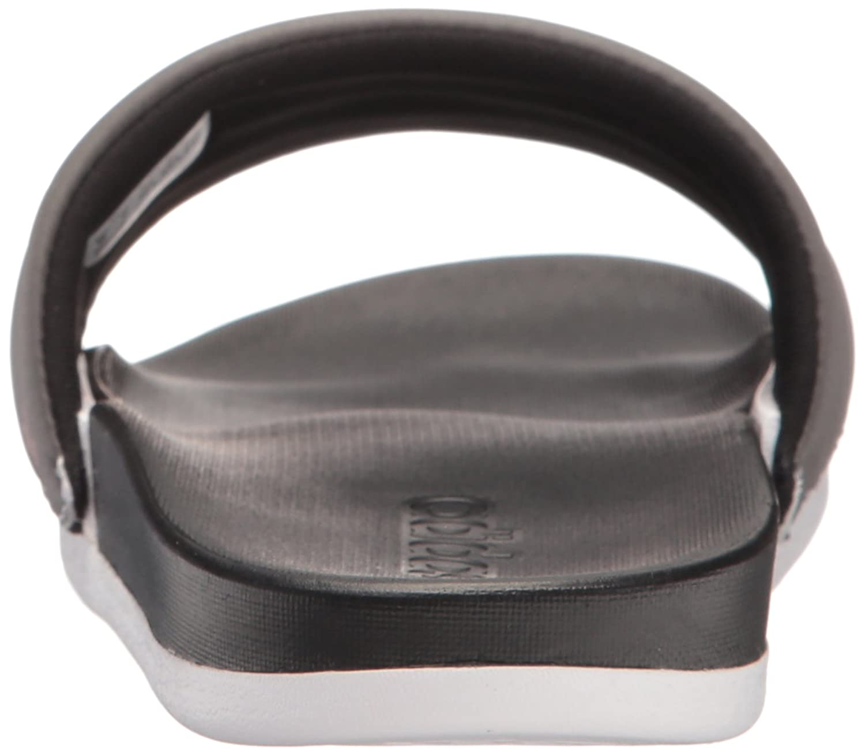 pretty nice 43328 2f995 Sandalias adidas de mujer Adilette Cf + Armad Athletic Slide Negro   Tech  Rust Blanco