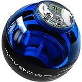 スナップボール オートスタット LED発光 手首 握力 腕力 リスト トレーニング ストラップ付