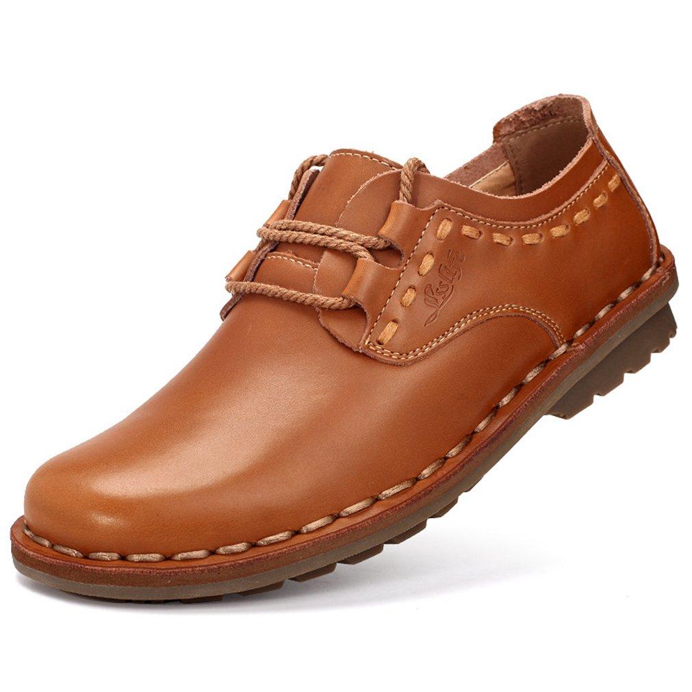 Feidaeu Zapatos Hombre 44 EU|Marrón Claro Zapatos de moda en línea Obtenga el mejor descuento de venta caliente-Descuento más grande