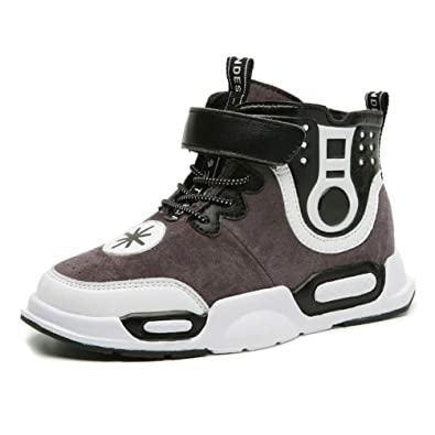 a0fee58568a Qianliuk Kids Sports Shoes for Boys Girls High top Sneakers ...