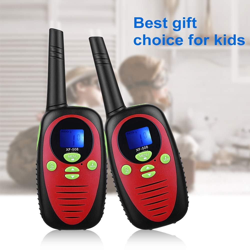 DJG Rechargeable Remote Two-Way Radio Walkie-Talkie 0.5w Children's Toy Walkie-Talkie 22-Channel Two-Way Radio(2packs) by DJG (Image #1)