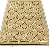 Easyology Premium Cat Litter Mat, XL Super Size, Beige