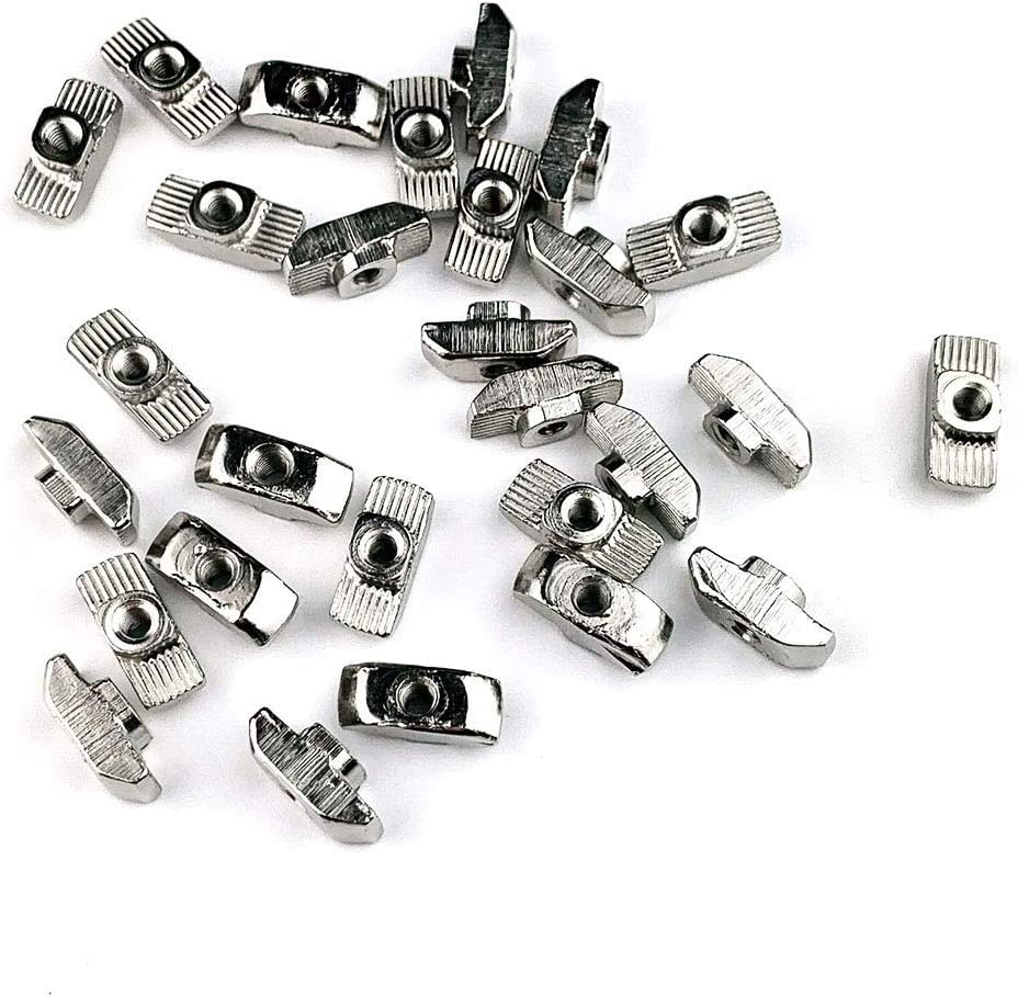 30PCS Assembly M4 T Nut for 4040 Series Aluminum Extrusion Profile