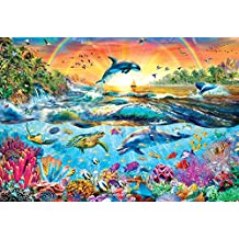 Buffalo Games Tropical Paradise by Adrian Chesterman Jigsaw Puzzle (2000 Piece)