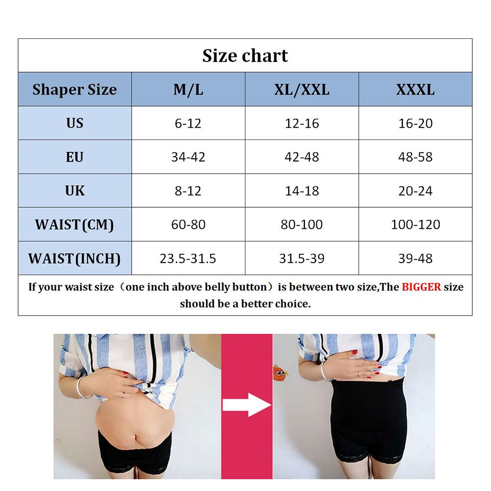 69dc5d1692 ZUIMIMI Women Hi-Waist Body Shaper Slimming Shapewear Tummy Control  Underwear