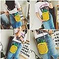 Women's Shoulder Bags, T-Antrix Fashion Pineapple Shape Clutch Purse Cross Body Bag Handbags For Girls Women