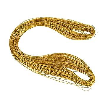 3 Farben X 100 Yards  Cord Schmuckfaden Craft String für Schmuck