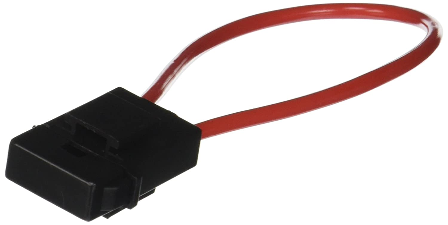 6 Pcs Auto Car Audio Inline Blade Fuse Holder Black Red DC 12V uxcell a13083000ux0626