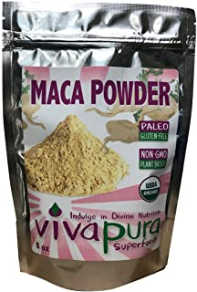 product image for Maca Powder, Organic, 8 oz Bag