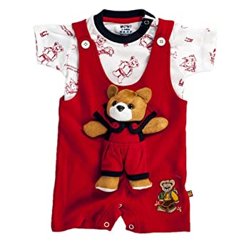 WOW! Unisex Romper (WW3399) Baby Girls at amazon