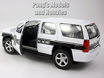 Amazon 45 Inch Chevy Tahoe Police Patrol Scale Diecast Metal Model