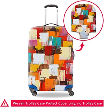 Creativebags Protective Washable Dust Proof Travel Suitcase Luggage Bags Protector Cover