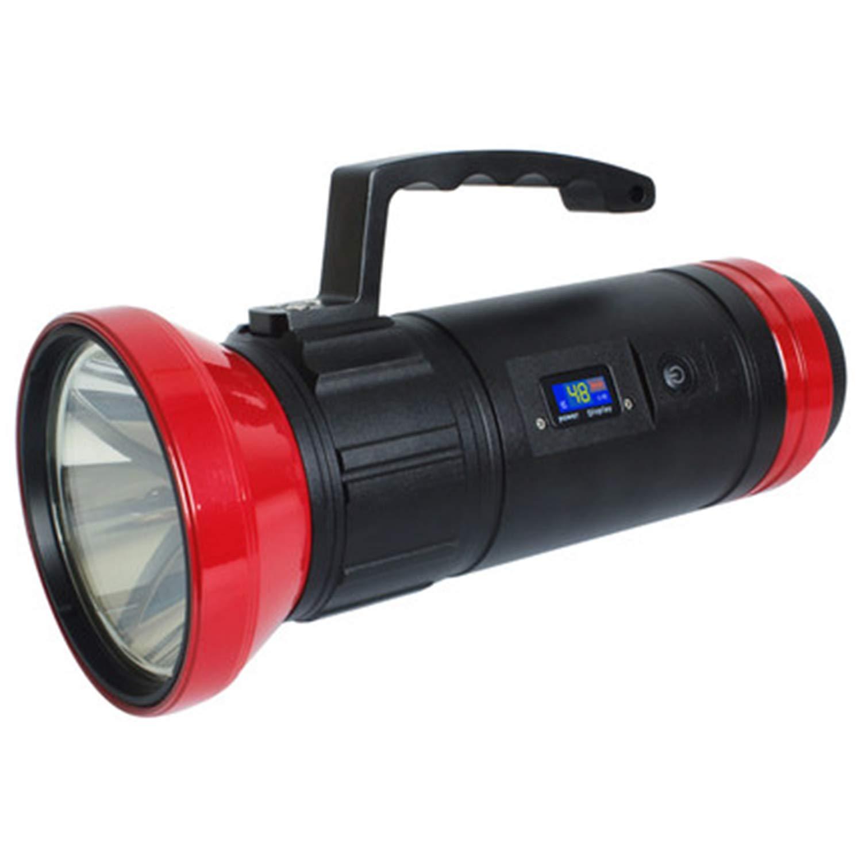 WSXX Super Bright Powerful LED High-Power Fishing Light, Night Fishing Light, Super Bright Glare Fishing Flashlight