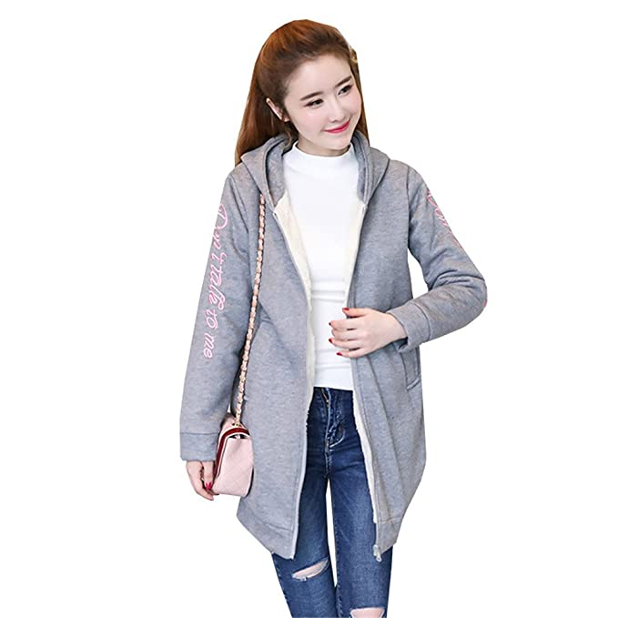 huge discount 9d717 f5aa7 COCO clothing Inverno Oversize Hoodie Cappotto Donna Caldo ...
