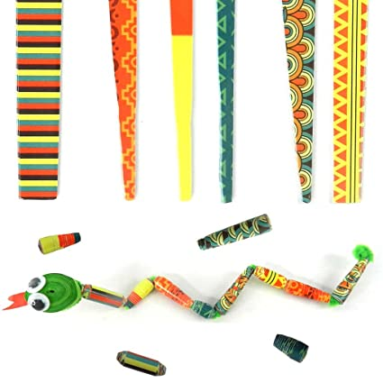 Amazon com: Beading Strips- African Theme - Cone Beads- DIY