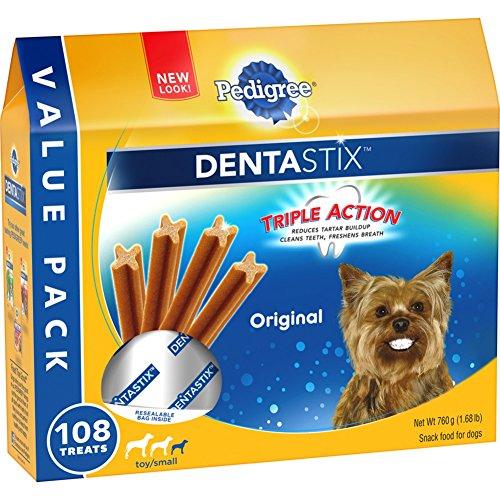 PEDIGREE-DENTASTIX-ToySmall-Dog-Chew-Treats-Original-108-Treats