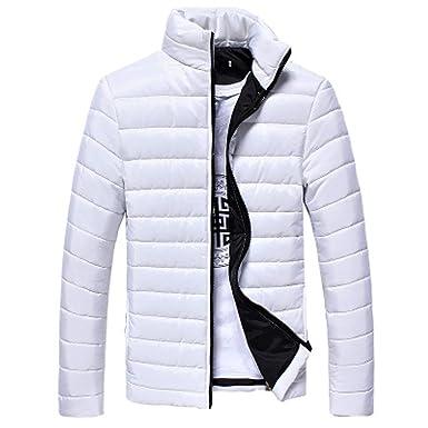 Manteau Veste D'hiver Homme Slim Couleur Ciellte Blousons Unie Fit rnfqwr078
