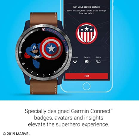 Amazon.com: Garmin Legacy Hero Series, Marvel Captain ...