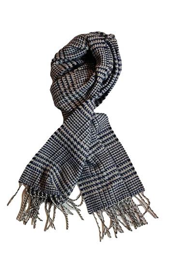 Wool Angora Scarf ALLAA 19759: Navy