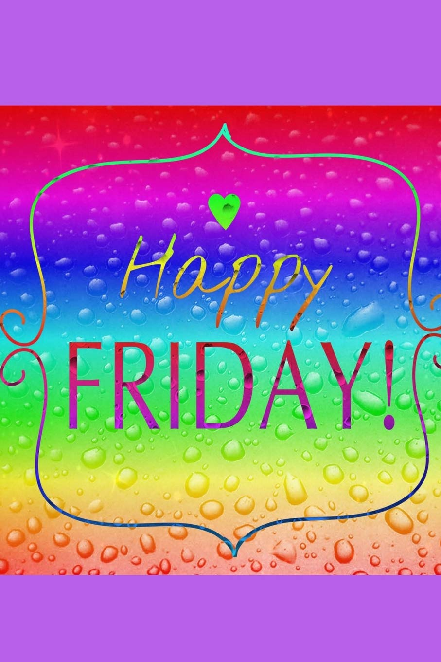 Happy Friday Unruled Blank Plain Unlined Notebook 100 Pages 6 X 9 With A Gorgeous Cover Smith Donna B 9781729744758 Amazon Com Books