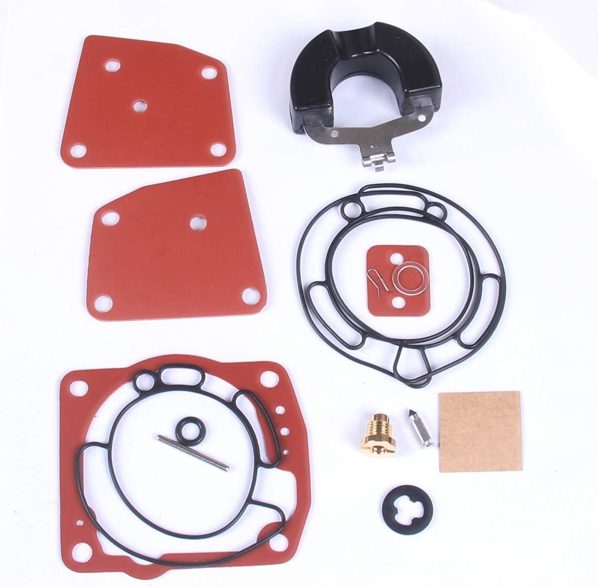 New Carburetor Rebuild Kit For JOHNSON EVINRUDE V4 V6 90 115 125 150 175 HP 438996 18-7247 CARB
