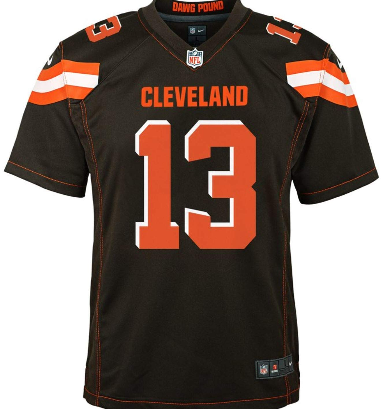 new arrival f4ed5 569d7 Nike Odell Beckham Jr. Cleveland Browns Youth Team Color Game Jersey